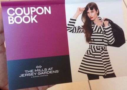 coupon book jersey mall