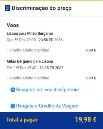 lis - Milão